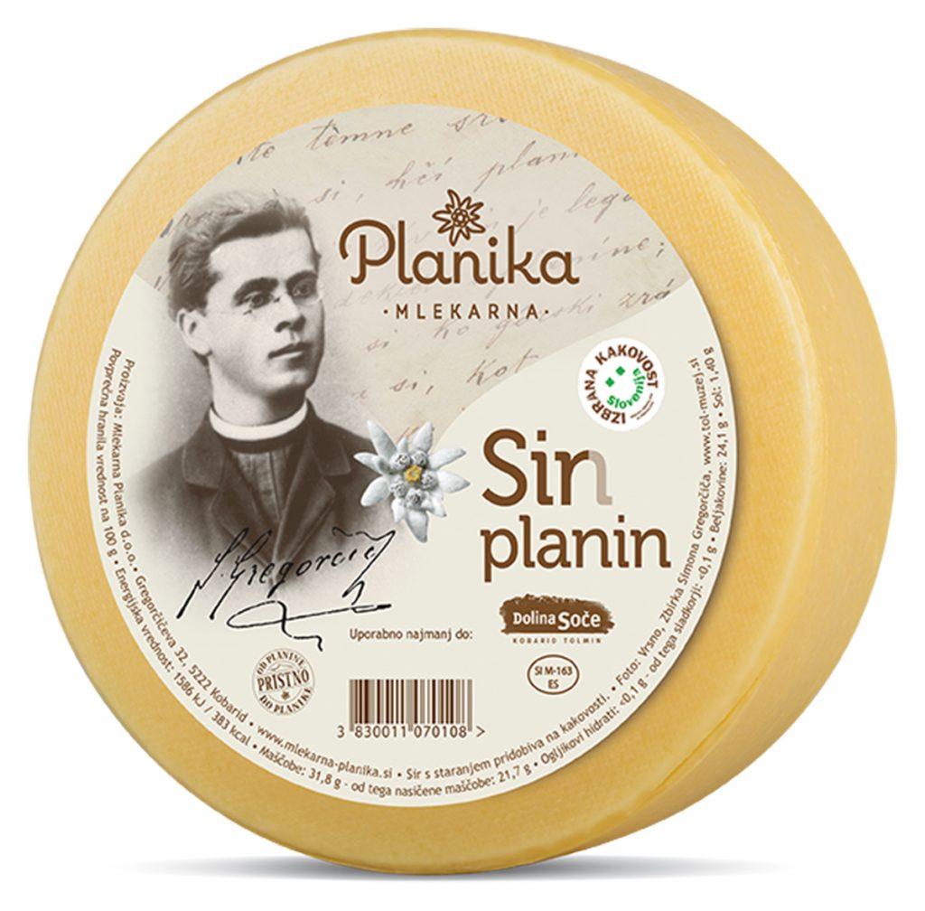 gregorčičev sir planika