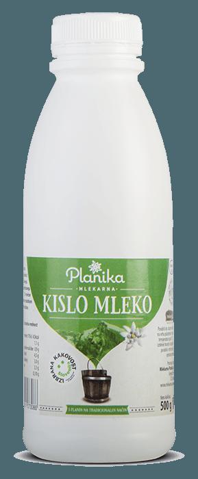 kislo mleko mlekarna planika