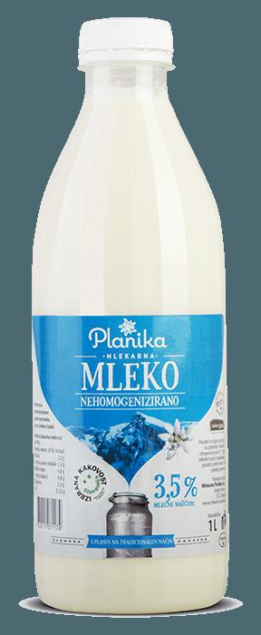 sveže mleko 3,5% mlekarna planika