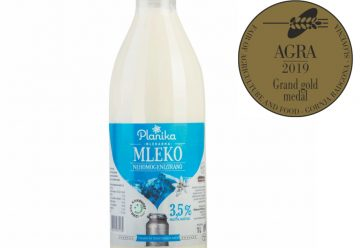 GREAT GOLD MEDAL FOR OUR MILK